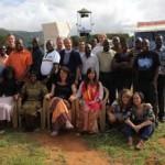 Das Mitarbeiterteam der Evangelisation in Namanga