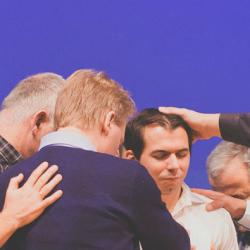 Aussendung im Gospel Forum