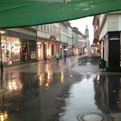 Verregnet...