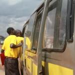Unser Team evangelisiert überall - auch in öffentlichen Verkehrsmitteln