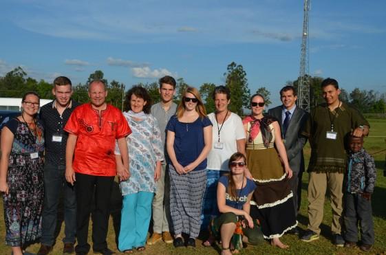Service in Mission Team aus Deutschland und Schweiz mit GFI-Vollzeit-Team
