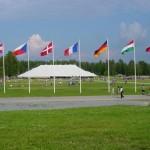 Das Zelt im Finnland beim Eurocamp