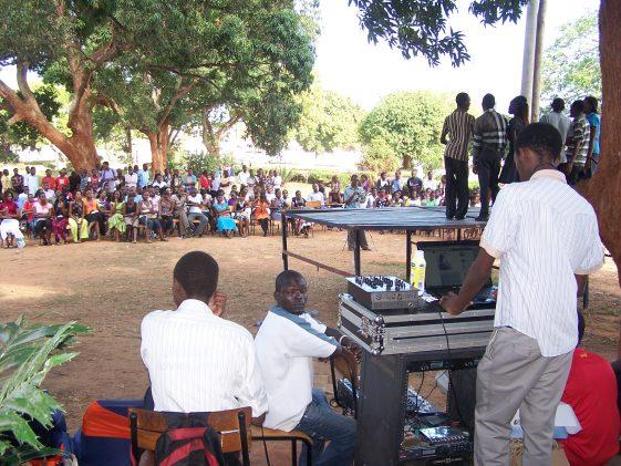 Universitätseinsatz in Kilifi, Kenia