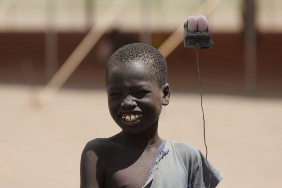 Junge im Flüchtlingslager in Kakuma