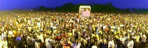 Großevangelisation in Nimule, Südsudan