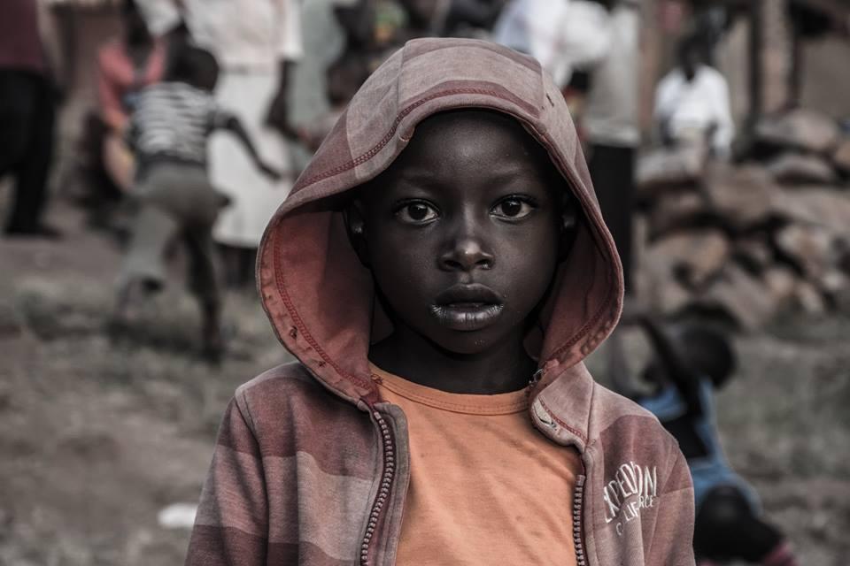 Augen eines Kindes