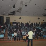 Evangelisation an der Moi University in Eldoret, Kenia