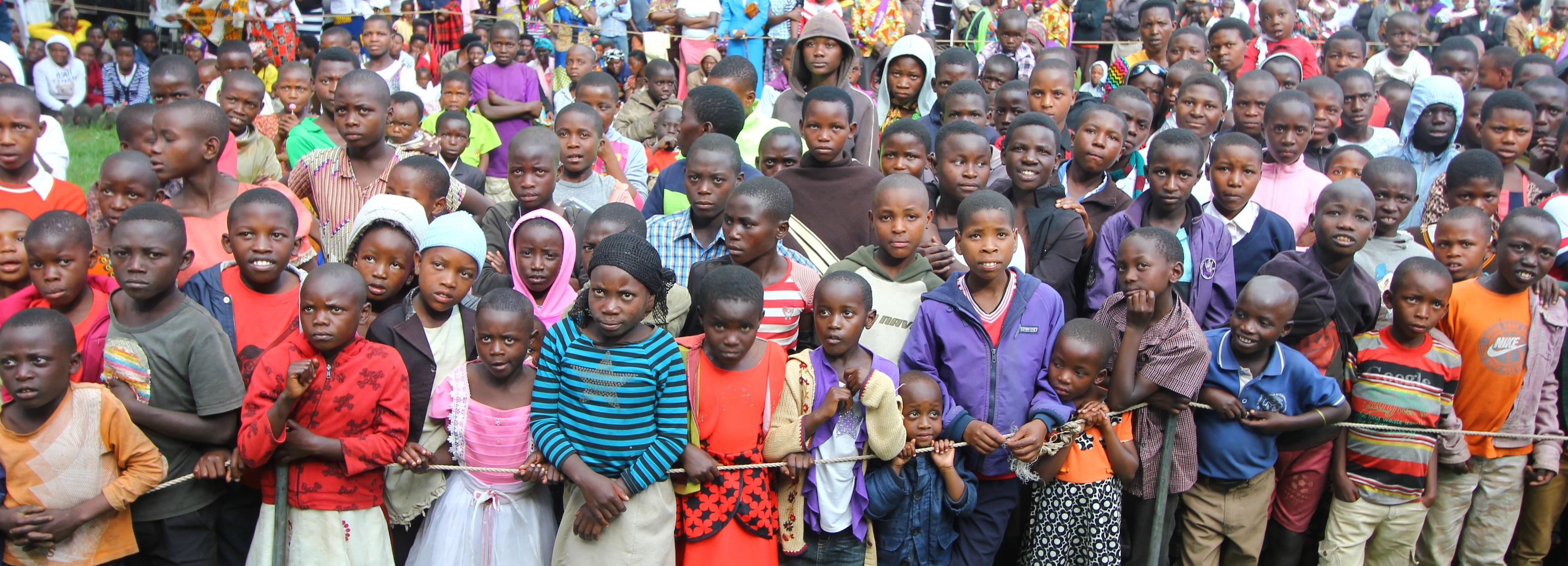 Menge in Kisoro
